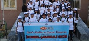 Başkaleli öğrencilerin Çanakkale ve İstanbul gezileri sürüyor
