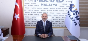 """Kalan'dan dolar manipülasyonuna tepki MÜSİAD Malatya Şube Başkanı Hüseyin Kalan: """"Bu ekonomik savaşı kaybetmeyeceğiz"""""""