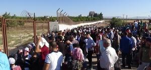 Suriyeliler ülkelerine gitmek için 'depar' attı Ülkesine giden Suriyelilerin sayısı 25 bini buldu