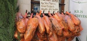 'Askıda Ekmek' kampanyası Belediye konaklarından start verildi