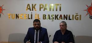 AK Parti Tunceli İl Başkanlığından kongre açıklaması