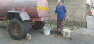 """Su sıkıntısı yaşayan köylüler: """"İstanbul'dan temiz geliyor, kirli gidiyoruz"""""""