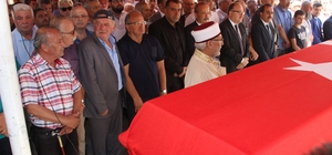 Eski Sağlık Bakanı Halil İbrahim Özsoy son yolculuğuna uğurlandı