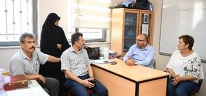 Başkan Üzülmez'den meslek edindirme kurslarına ziyaret