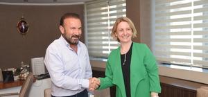 Milletvekili Emine Zeybek'ten Başkan Doğan'a nezaket ziyareti