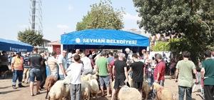 Seyhan Belediyesi bayrama hazır Seyhan Belediyesi 952 kişi ile bayram boyunca kesintisiz hizmet verecek Seyhan'da kurbanlar bu yılda ücretsiz kesilecek