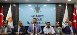 """Nurettin Doğanay'dan kongre değerlendirmesi AK Parti Bolu İl Başkanı Nurettin Doğanay: """"Yaklaşık bin partiliyle kongreye gideceğiz"""""""