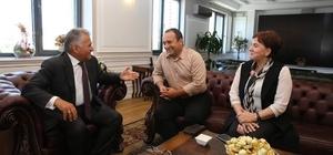 Başkan Büyükkılıç'a Uzunyayla Çerkes Kültür Festivaline özel davet