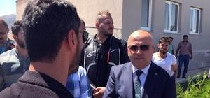 """Kenan Sofuoğlu Dünya Motokros Şampiyonası pistini ziyaret etti Milletvekili Kenan Sofuoğlu Afyonkarahisar'da Kenan Sofuoğlu: """"Dünyanın en iyi motokros pilotları Türkiye'ye gelecek"""""""