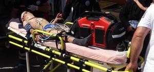 Kilis'te hafif ticari araç devrildi: 7 yaralı