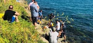 Sinop'ta boğulma Serinlemek için denize giren şahıs boğuldu