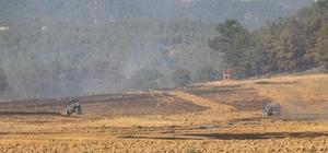 Tarım arazisinde başlayan yangında 15 hektar alan zarar gördü Göynük'te çıkan orman yangınını kontrol altına alındı