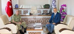 3. Ordu Komutanı Erzincan İl Müftülüğünü ziyaret etti