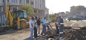 Şuhut Belediyesi alt yapı çalışmalarına hız verdi