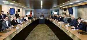 Nevşehir Heyeti, Kültür ve Turizm Bakanı Ersoy'u ziyaret etti