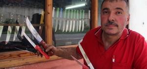 Giresun'da geleneksel yöntemle bıçak yapan son usta Giresun merkeze bağlı Ülper köyünde Hakkı Şahin geleneksel yöntemle  bıçak yapımını sürdüren son temsilci Kurban Bayramı'nın yaklaşmasıyla Ülper  bıçağının satışları artış gösteriyor
