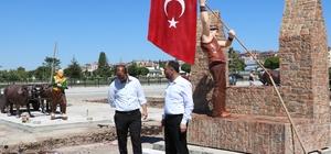 Beyşehir'de Türk Büyüğü, Halk ve Masal Kahramanları Parkı tamamlanıyor