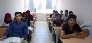Halk eğitim kursları öğrencilere kolaylık sağlıyor Üniversiteye hazırlık kursları devam ediyor
