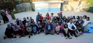 Karaosmanoğlu'ndan Diriliş 3 Gençlik Kampı'na ziyaret