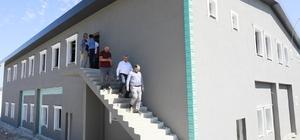 İlimtepe Mezarlığı hizmet binasına Kuran kursu