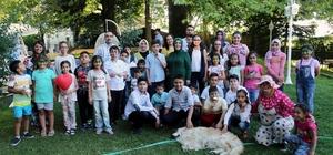 Ayşe Kamçı Sevgi Evlerinde kalan çocukları misafir etti