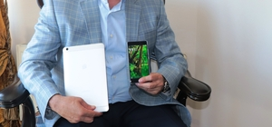 Milletvekili Köktaş boykota destek verdi, yerli telefon aldı