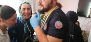 Osmaniye'ye şehit ateşi düştü Şehadet haberi üzerine fenalık geçiren anne ve kalp hastası babası ambulansla hastaneye kaldırıldı