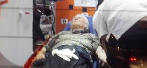 Oğlunun kendisini evden kovaladığını iddia eden yaşlı kadın denize atladı Vatandaşların kurtardığı kadın hastaneye kaldırıldı