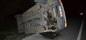 Şuhut Afyon yolu istikametinde yine kaza