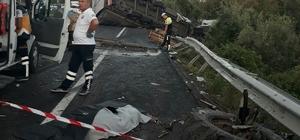Samsun'da tır traktöre çarptı: 2 ölü, 2 yaralı