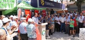 Çivril'den ABD'ye protesto
