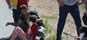 Sivas'ta hafif ticari araç ile otomobil çarpıştı: 6 yaralı