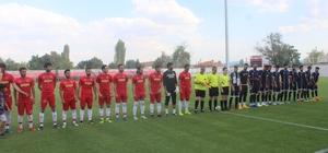 Kudüspor, TKİ Tavşanlı Linyitspor ile hazırlık karşılaşması yaptı