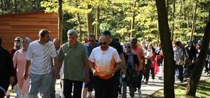 Başkanlar, Kartepe'de yürüdüler