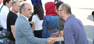 Pamukkale'de belediyesi bayramlaştı