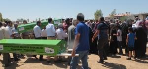 Van'daki feci kazada hayatını kaybeden çift, yan yana toprağa verildi