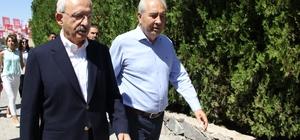 CHP Genel Başkanı Kılıçdaroğlu Nevşehir'de Kılıçdaroğlu gazetecilerin soru sorma talebini reddetti