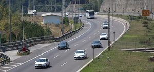 Kurban Bayram öncesi trafik denetimi arttırıldı Sürücü ve yolculara trafikle ilgili uyarılar yapılıyor