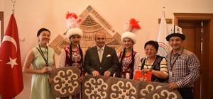 Taşköprü'de Yabancı Folklor Gruplarıyla resepsiyon yapıldı