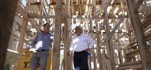"""Başkan Baran, """"İhtiyaçlara göre projeler üretiyoruz"""""""