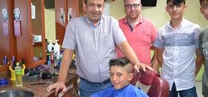 Amerikan tıraşını yasakladı Kuaför Sedat Güzelyayla, Amerika'ya tepkisini tıraş ile gösterdi