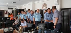 Başkan Güven personeliyle bayramlaştı