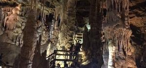 Karaca Mağarası Mart başından bu yana yaklaşık 55 bin turisti ağırladı