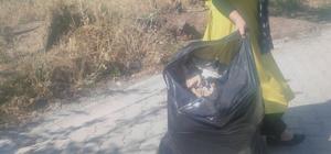 Varto Belediyesinden bayram öncesi mezarlık temizliği yapıldı