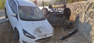 Darende'deki trafik kazasında 4 kişi yaralandı