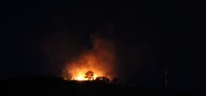 Askeri gazinodaki yangın korkuttu