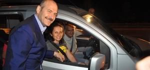 """Bakan Soylu, Afyonkarahisar'da trafik uygulamasına katıldı Bakan Soylu, çocuklara """"kırmızı düdük"""" hediye etti Soylu, bayram yolculuğu yapan sürücüleri uyardı"""