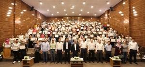 Şahinbey Belediyesi'nde 199 kursiyer daha sertifikalarını aldı