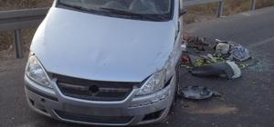 Manisa'da otomobil bariyerlere çarptı: 1 ölü