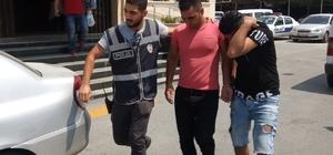Tarsus'ta evlerin kapı kilidini kırarak, hırsızlık yapan 2 kişi tutuklandı